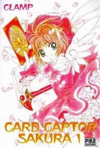 Couverture du tome 1 de Card Captor Sakura chez Pika