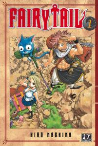 Couverture du tome 1 de Fairy Tail chez Pika