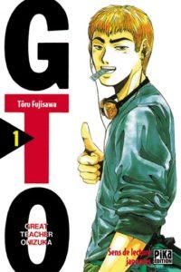 Couverture du tome 1 de GTO chez Pika