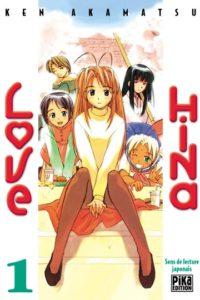 Couverture du tome 1 de Love Hina