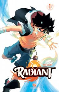 Couverture du tome 1 de Radiant
