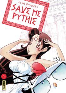 Couverture du tome 1 de Save me Pythie chez Kana