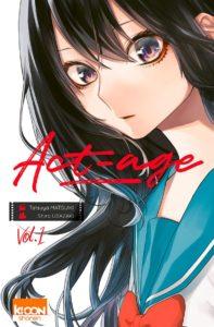 Couverture du tome 1 de Act-age chez Ki-oon