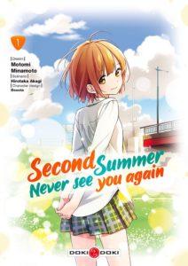 Couverture du tome 1 de Second summer never see you chez Doki-Doki
