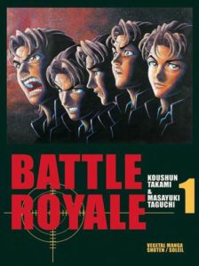 Couverture du tome 1 de Battle Royale