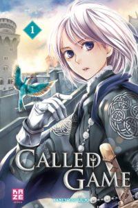 Couverture du tome 1 de Called Game chez Kaze