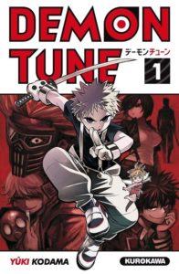 Couverture du tome 1 de Demon Tune chez Kurokawa
