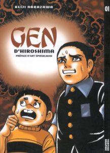 Couverture du tome 1 Gen d'Hiroshima