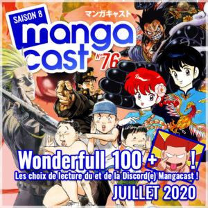 Cartouche du Mangacast n°76