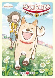 Couverture du tome 1 de Mon Shiba ce drôle de chien chez Doki-Doki