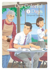 Couverture du tome 1 de Our colorfoul Days chez Akata
