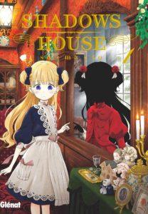 Couverture du tome 1 de Shadows House chez Glénat