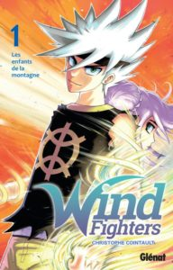 Couverture du tome 1 de Wind Fighters chez Glénat
