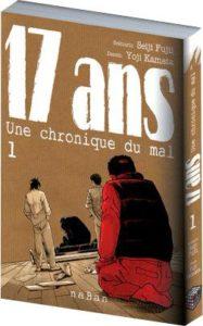 Couverture du tome 1 de 17 ans chronique du mal chez naBan éditions