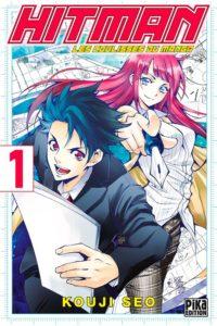 Couverture du tome 1 de Hitman les coulisses du manga chez Pika