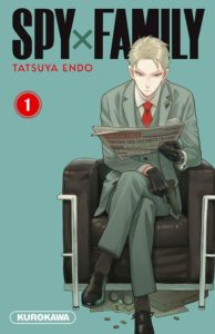 Couverture du tome 1 de Spy x Family chez Kurokawa