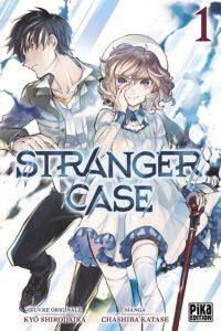 Couverture du tome 1 de Stranger Case chez Pika