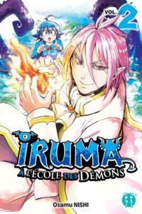 Couverture du tome 2 de Iruma à l'école des démons chez Nobi Nobi