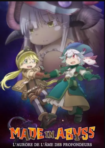 Affiche du 3e film Made in Abyss chez Wakanim