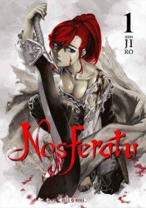 Couverture du tome 1 de Nosferatu chez Soleil