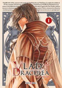 Couverture du tome 1 de Vlad Draculea chez Soleil