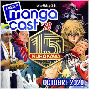 Image de UNE du Mangacast n°78