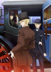 Affiche de l'anime Moriarty the Patriot sur Wakanim