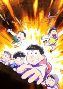 Affiche de la saison 3 de Osomatsu-san sur Crunchyroll