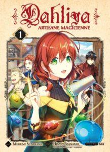 Couverture du tome 1 de Dahliya, artisane magicienne chez Komikku