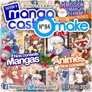 Cartouche du Mangacast Omake 84