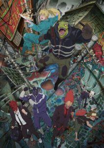 Affiche de l'anime Dorohedoro chez Netflix