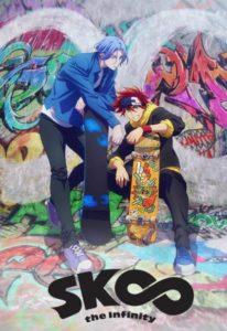 Affiche de l'anime de SK8 - the infinity sur Wakanim