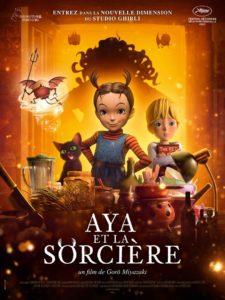 Affiche du film Aya et la sorcière diffusé par WildBunch