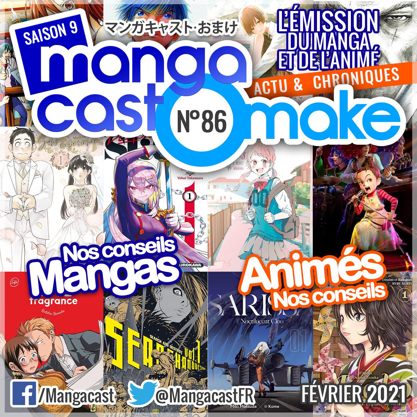 Image de UNE du Mangacast Omake n°86