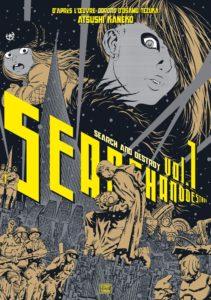 Couverture du tome 1 de Search and destroy chez Delcourt Tonkam