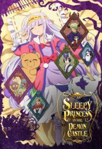 Affiche de l'anime de Sleepy princess in the demon castle chez wakanim