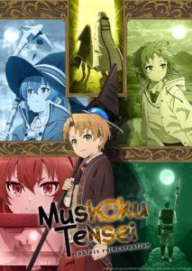 Affiche de l'anime Mushoku tensei jobless reincarnation sur wakanim