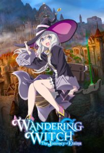 Affiche de Wandering witch the journey of Elaina chez Wakanim