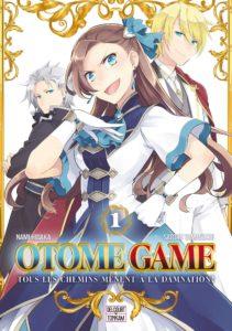 Couverture du tome 1 de Otome Game chez Delcourt/Tonkam