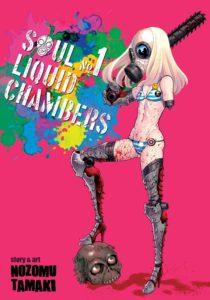 Couverture du tome 1 de Soul liquid chambers chez Noeve Grafx