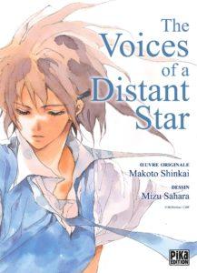 Couverture de The voices of a distant star chez Pika