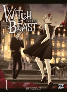 Couverture du tome 1 de The witch and the beast chez Pika