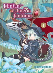 Couverture du tome 1 de L'enfant du dragon fantôme chez Komikku