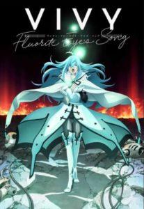 Affiche de l'anime Vivy fluorite eyes song chez Wakanim