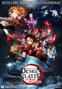 Affiche du film Demon Slayer : le train de l'infini