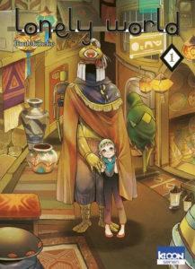 Couverture du tome 1 de Lonely World chez Ki-oon