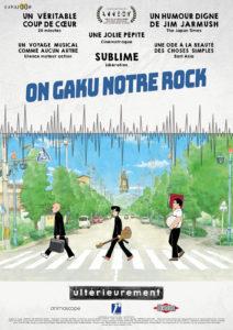 Affiche du film On-Gaku : Notre rock
