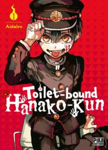Couverture du tome 1 de Toilet bound Hanako-Kun chez Pika