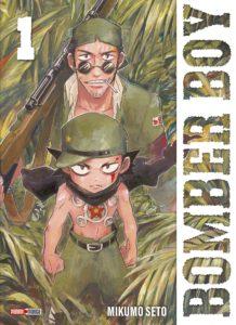 Couverture du tome 1 de Bomber Boy chez Panini