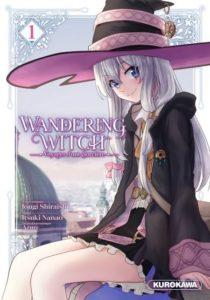 Couverture du tome 1 de Wandering Witch voyages d'une sorcière chez Kurokawa